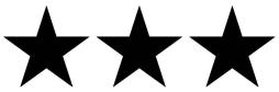 three stars